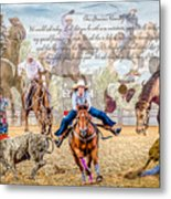 For The Love Of Rodeo II Metal Print