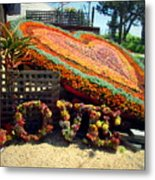 For The Love Of Succulents Metal Print