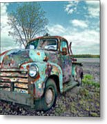 For Whom The Truck Tows Metal Print