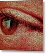 For Your Eyes Only Metal Print