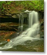 Forbes State Forest Cole Run Cave Falls Metal Print