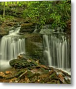 Forbes State Forest Twin Falls Metal Print