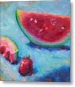 Forbidden Fruit Metal Print by Talya Johnson
