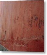 Forbidden Graffiti Metal Print