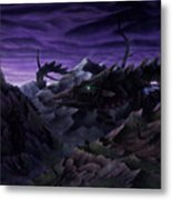 Forbidden Land Of The Beasts Descent Metal Print