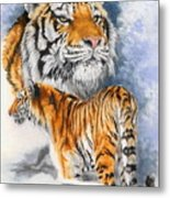 Forceful Metal Print