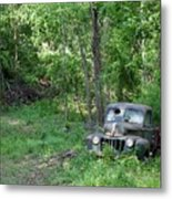 Ford - Found On Road Dead Metal Print