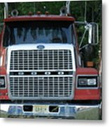 Ford 9000 Power And Confort... Metal Print
