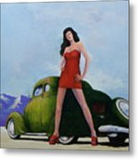 Ford And Chick Metal Print