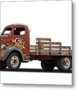 Ford Classic 7 Up Truck Metal Print