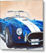 Ford Cobra In Oil Metal Print