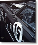 Ford Cobra Racing Coupe Metal Print
