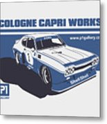 Ford Cologne Capri Works Metal Print