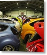 Ford Colours Metal Print