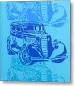Ford Coupe 34 Metal Print