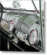Ford Dash Metal Print