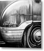 Ford Deluxe Fender Black And White Metal Print