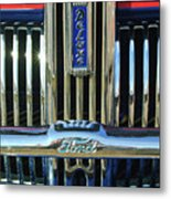 Ford Deluxe Grille Metal Print
