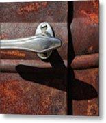 Ford Door Handle Metal Print
