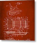 Ford Engine Lubricant Cooling Attachment Patent Drawing 1g Metal Print