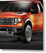 Ford F150 Svt Raptor Metal Print
