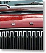 Ford Falcon Details Metal Print
