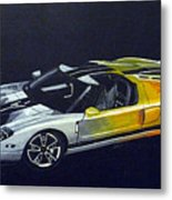 Ford Gt Concept Metal Print