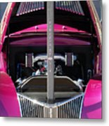 Ford Hot Rod Grille Metal Print