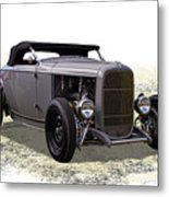 Ford Hot Rod Roadster Metal Print