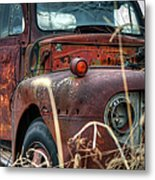 Ford In A Field Metal Print
