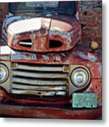 Ford In Goodland Metal Print