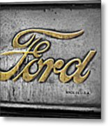 Ford Made In The Usa Metal Print