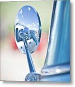 Ford Mirror Metal Print