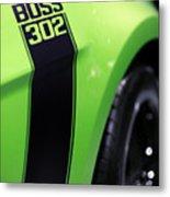 Ford Mustang - Boss 302 Metal Print by Gordon Dean II