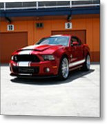 Ford Mustang Shelby Gt500 Metal Print