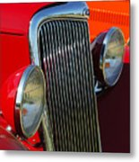 Ford Roadster Grille Metal Print