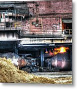 Ford Rouge Plant Steelmill Metal Print