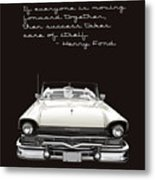 Ford Success Poster Metal Print