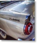 Ford Thunderbird Fender Color  Metal Print