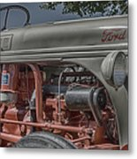 Ford Tractor Antique Metal Print