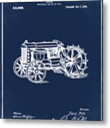 Ford Tractor Patent 1919 Metal Print