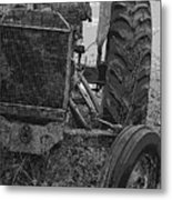 Ford Tractor Metal Print