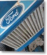 Ford Tuff Metal Print