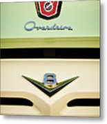 Ford V8 Pickup Emblem Metal Print