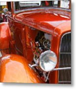 Ford V8 Right Side View Metal Print