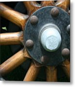 Ford Wagon Wheel Metal Print