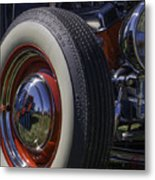 Ford Whitewall Metal Print