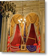 Ford's Theatre President's Box Metal Print