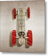 Fordson Tractor Top Metal Print
