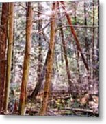 Forest Bling Metal Print